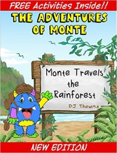 Sybrina's Review of Monte Travels The Rainforest by D.J. Thomas